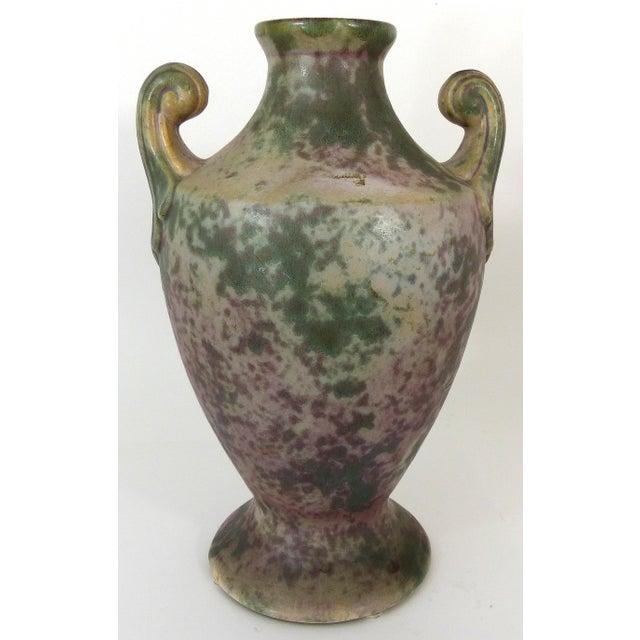 Vintage Burley-Winter Urn Style Vase With Handles - Image 2 of 8