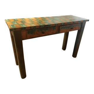 War Admiral Console Table