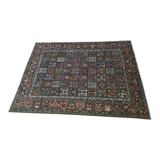 "Vintage Persian Bactiari Area Rug - 9'7"" x 12'6"""