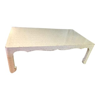 Ironies Mother of Pearl Coffee Table