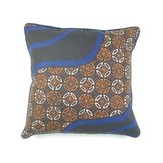 Cap Batik Biru Pillow