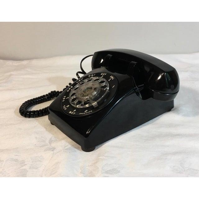 Vintage Black Rotary Telephone - Image 2 of 8