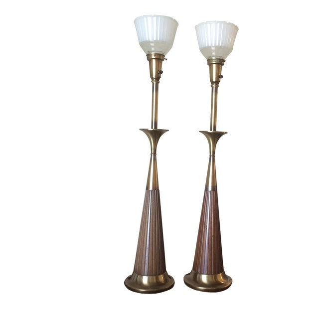 Mid-Century Rembrandt Table Lamps - A Pair - Image 1 of 6