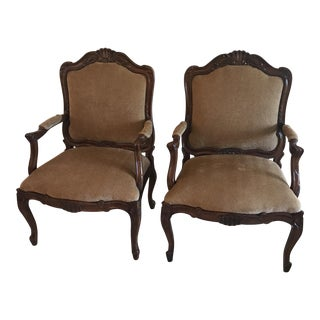 Thomasville Louis XVI Chairs - A Pair
