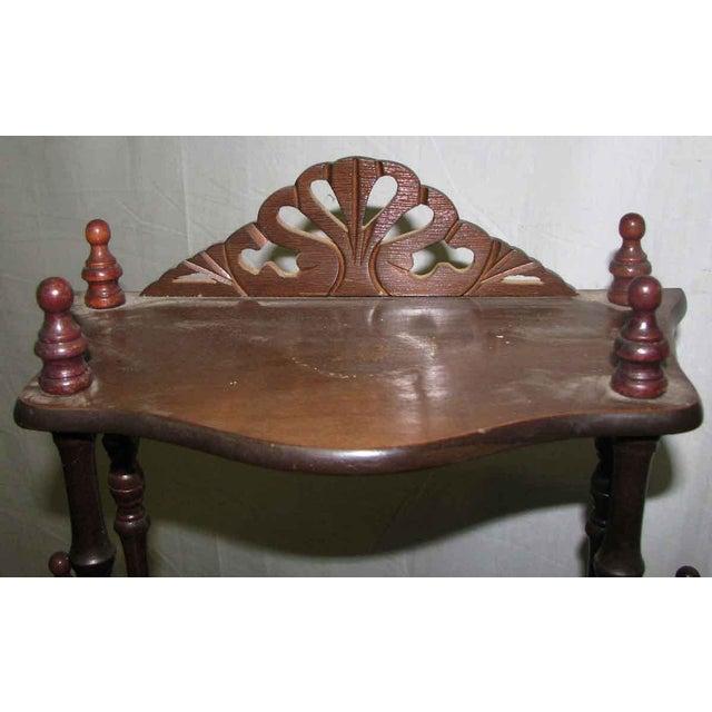 Dark Wooden 5 Tier Shelf - Image 2 of 10