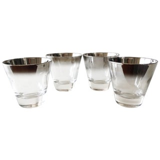 Dorothy Thorpe Silver Ombre Cordials - Set of 4