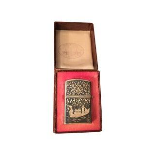 Vintage Siam Sterling Lighter
