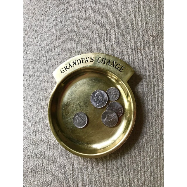Vintage Brass Coin Dish - Image 3 of 4
