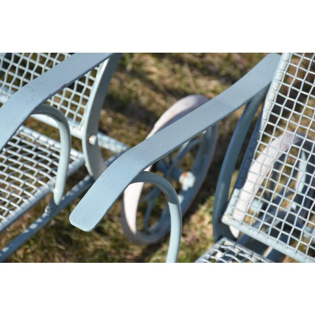 Russell Woodard Sculptura Patio Chaise Lounges - A Pair - Image 9 of 11