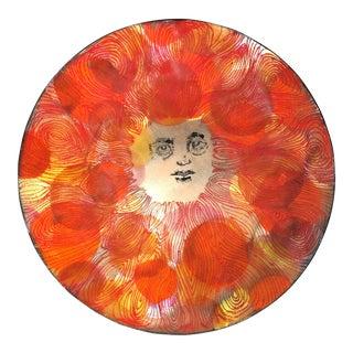 Sylvia Falkove Enamel on Copper Sun