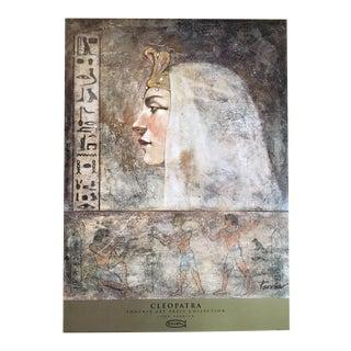 John Parrish 1993 Cleopatra Lithograph