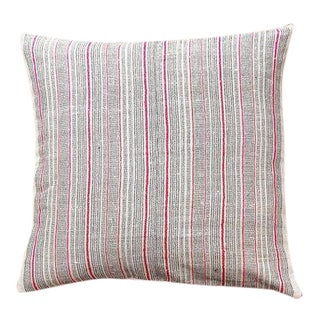 Vintage Hemp Hmong Pillow Cover