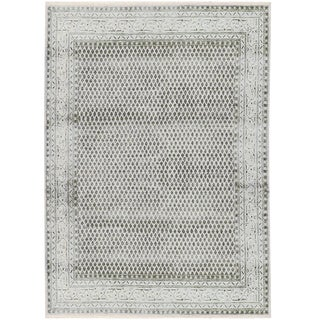Transitional Hand Woven Rug -- 5'5 X 7'7