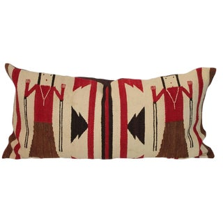 Early Yea Navajo Indian Weaving Pillow