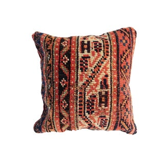 Antique Herat Rug Fragment Pillow