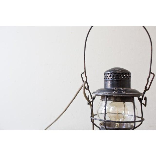 Image of Vintage Rustic Candle Lantern Lamp