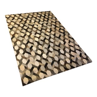 Link Cowhide Rug by Ben Solimani for Restoration Hardware