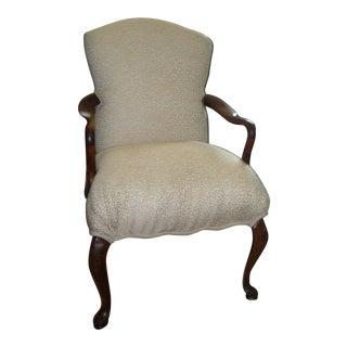 Vintage Carved Walnut Chair