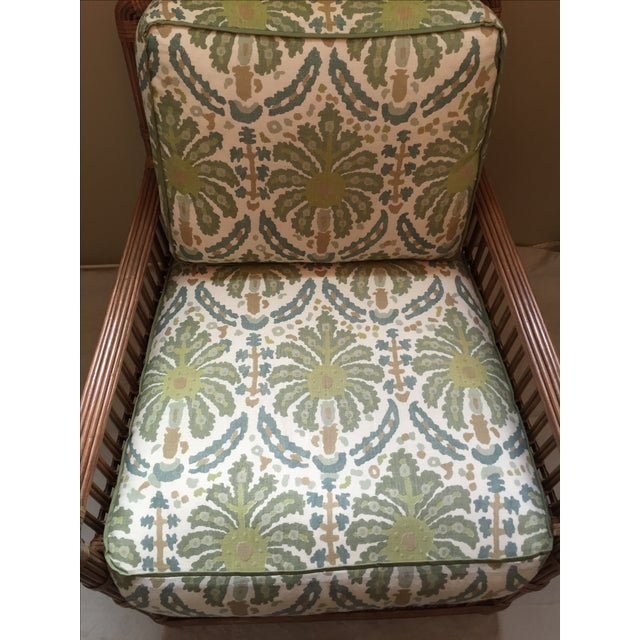 Modern Rattan Lounge Chair - Image 8 of 8