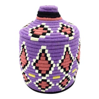 Moroccan Wool Basket