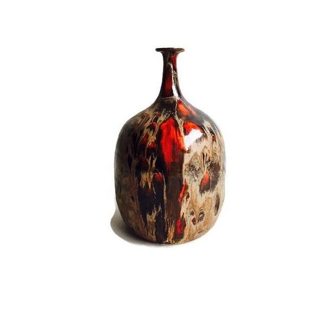 Vintage Danish Style Studio Pottery Bud Vase 1975 - Image 1 of 5