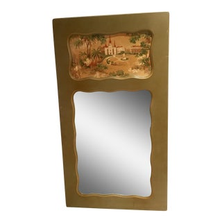 Mirror French With Toile Inset