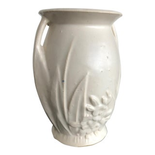American Arts & Crafts White Ware Vase
