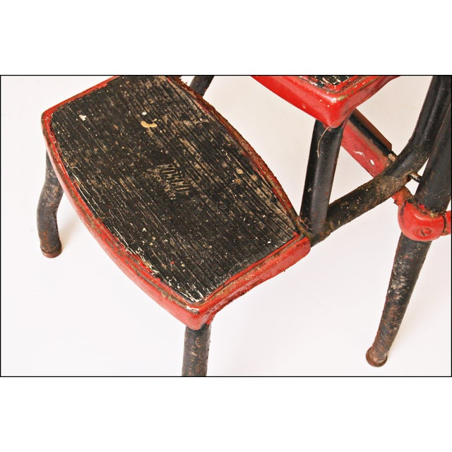 Mid-Century Metal Step Stool - Image 8 of 11