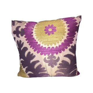 Donghia Suzani Asian Pink Passion Pillow