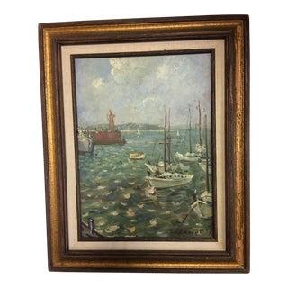 Ivan Denysenko Harbor Painting