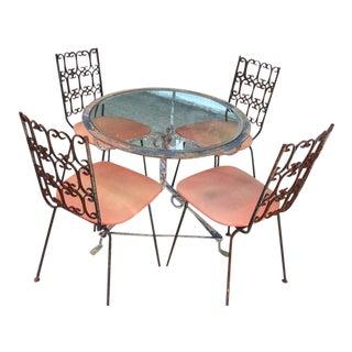 Arthur Umanoff Granada Chairs & Table