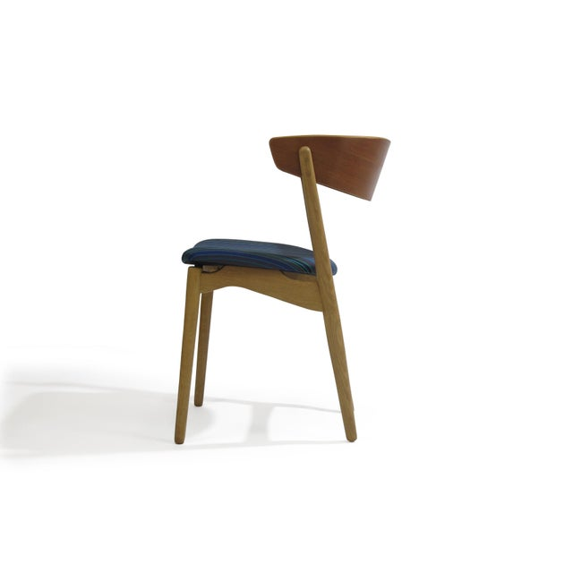 Bramin Teak and Oak Dining Chairs - Image 6 of 7