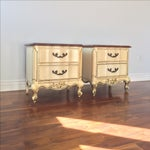 Image of American of Martinsville French Style Nighstands
