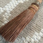 Image of Rustic Carved Hand Broom