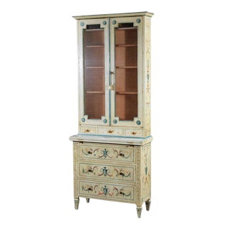 Venetian Hand Painted Cabinet