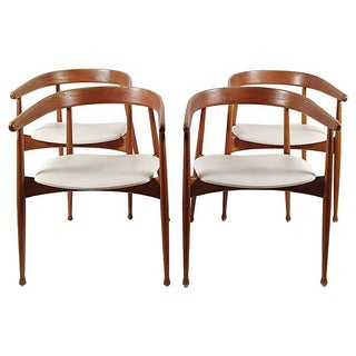 Danish Mid Century Modern Chairs - S/4