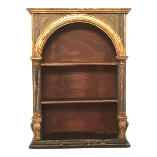 Italian Painted Altar Shelving Piece