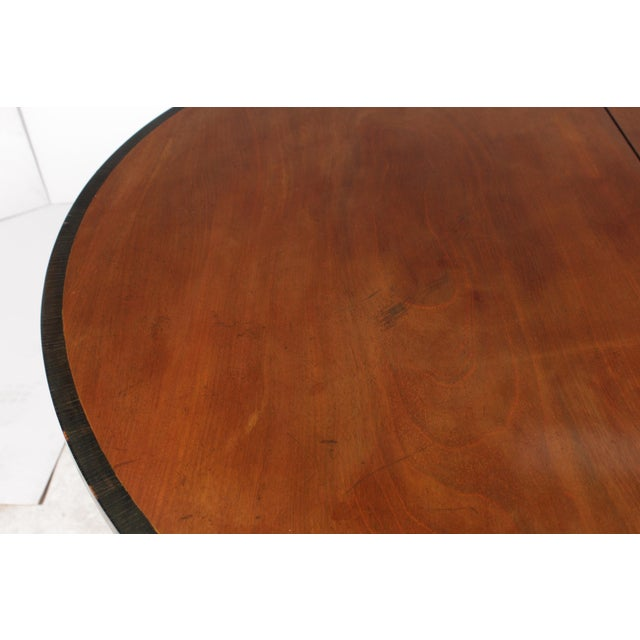19th-C. English Empire-Sty Center Table - Image 10 of 10
