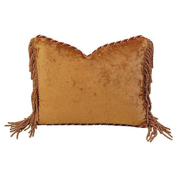 Designer Brunschwig Fils Toile Silk Accent Pillow - Image 5 of 5