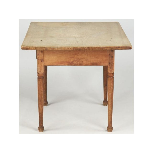 Antique American Pine Farm Table - Image 6 of 11