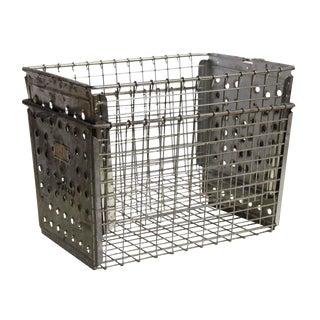Stackable Metal Locker Basket