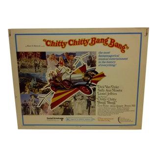 """1968 Vintage Movie Poster of """"Chitty Chitty Bang Bang"""""""