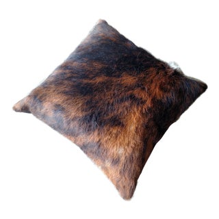 Gambrell Renard Cowhide Pillow