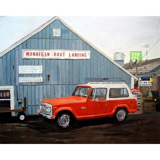 """Josh Moulton """"Open for the Season"""" Giclee Print After a Painting"""