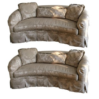 Drexel Heritage Custom Sofa Set - A Pair