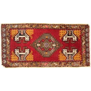 """Turkish Kazak Wool Rug - 1'7"""" x 3'3"""""""