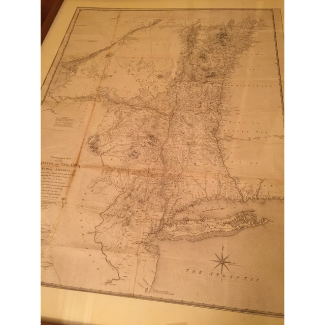 Antique Map of New York Province - Image 3 of 9