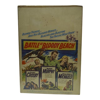 'Battle at Bloody Beach' Movie Poster