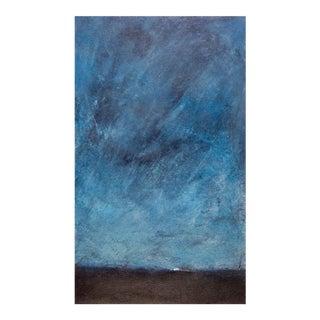 L. Jackson Abstract Night Sky Monoprint
