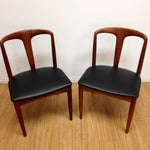 Image of Rosewood Chairs by Johannes Andersen - Pair